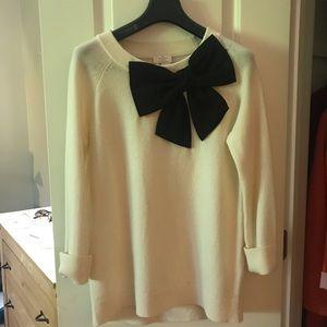 ♠️ Kate Spade Big Bow Sweater